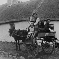 Did your family leave Ireland during the Famine ?